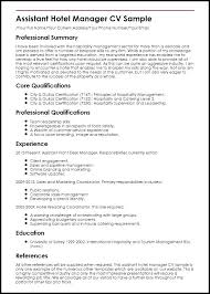 Banquet Manager Resume Interesting Sample Resume Hospitality Management Resumes For Industry Web Hotel