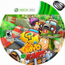Label El Chavo Kart - Xbox 360