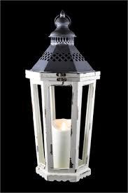 luminara antique white winston lantern
