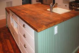 reclaimed countertops picturesque wood counter kitchen