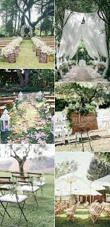 35 brilliant outdoor wedding decoration