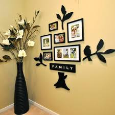 Small Picture Hallway Wall Art I could see this photo family tree in a suburban