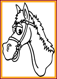horse face coloring page. Interesting Horse Best Marvelous Horse Face Coloring Page Pin Drawn Mask Of Style And Ideas  For A Concept In P
