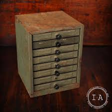 Convert Cabinet To File Drawer Vintage Industrial 8 Drawer Small Parts Storage Cabinet
