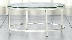 36 round coffee table elegant glass throughout era crate and barrel designs 4 diameter 36 round coffee table