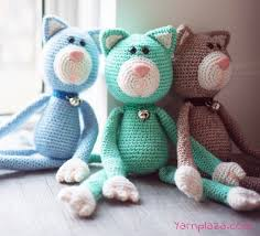 Amigurumi Patterns Free Enchanting Crochet A Cat Free Crochet Pattern Yarnplaza For Knitting