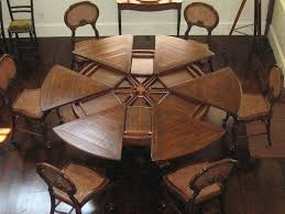 pine round dining table round glass dining table round dining table oversized bolts on the legs