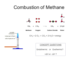 3 combustion of methane