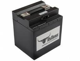 <b>Литиевый</b> тяговый <b>аккумулятор RuTrike</b> (18650 MnCoNi) 48V24A/H