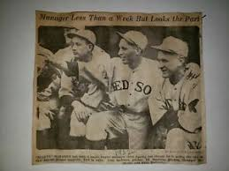 Red Sox 1932 Picture Marty McManus Ivy Andrews Rudy Hulswitts Ed Durham |  eBay