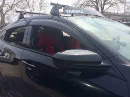 Honda Civic Hatchback Yakima Roof Rack System Honda Civic Hatchback Civic Hatchback Kayak Rack