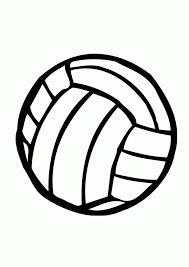 Small Picture Volleyball Coloring Pages Coloring Home