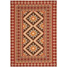 veranda red natural 7 ft x 10 ft indoor outdoor area rug