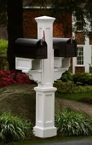 double mailbox post plans. 4x4 Mailbox Post Plans Double E