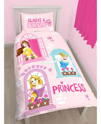This reversible Disney Princess Boulevard Single Duvet Set ... & Disney Princess Boulevard Single/US Twin Duvet Cover and Pillowcase Set Adamdwight.com