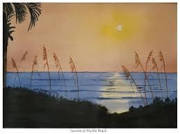saatchi art artist anna williams painting sunrise at myrtle beach art