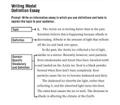 write definition essay courage