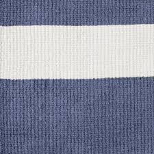 x blue striped rug  the land of nod