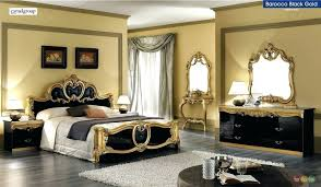 Italian bedrooms furniture King Size Black And Gold Bedroom Furniture Traditional Bedroom Furniture Collection Mansion Bed Black And Gold Italian Bedroom Black And Gold Bedroom Furniture Thesynergistsorg Black And Gold Bedroom Furniture Gold Bedrooms Black With Bedroom