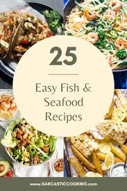 Best Easy Fish and Seafood Recipes ...