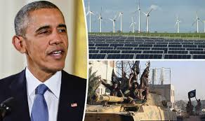 Image result for obama fighting climate change not terror