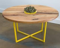Planter coffee table Wood Steel And Wood Coffee Table With Planter Insert Etsy Coffee Table Planter Etsy