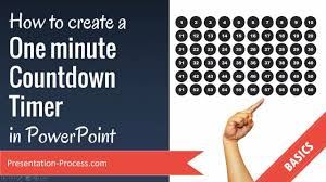 How To Make A One Minute Timer How To Create A One Minute Countdown Timer In Powerpoint Youtube