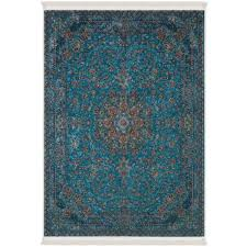 rasia traditional soft carpet area rug in turquoise 6x10 6 3 x9 11 190cm x 300cm rugs carpets best canada
