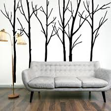 unusual design large wall decals for living room best interior extra black tree branches art mural