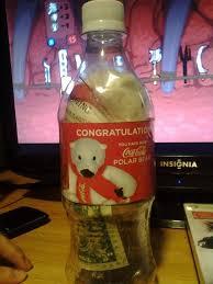 Coke Polar Bear In Bottle Vending Machine Best Won This At My School's Vending Machine Rebrn