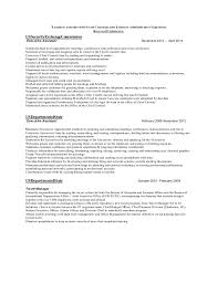 Relevant Experience Resume Adorable Relevant Experience In LinearExecutive Format For A Resume
