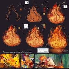 Tutorial How I make the Fire by Closz on DeviantArt