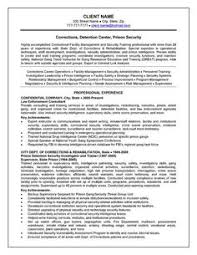 ideas about police officer resume on pinterest   cover    detention officer resume   http     resumecareer info detention officer resume     corrections officer resume example