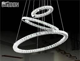 diamond ring led crystal chandelier light modern lamp circle light 100 guarantee md8825 diy style