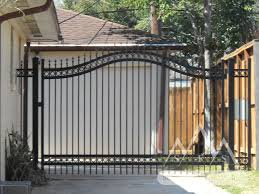 metal fence gate. Contemporary Metal Iron Fence Gates Mustache Arch With Metal Gate 6