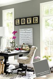 colorful office decor. Ballard Designs January-February 2015 Paint Colors Benjamin Moore Amherst Gray Colorful Office Decor P