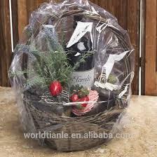 clear shrink wrap bag for gift basket manufacture clear shrink wrap bag for gift basket heat shrink bags shrink wrap bag on alibaba