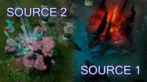 source 2 and source 1 comparison dota 2 reborn update youtube