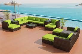 Sectional Sofa Outdoor Patio Furniture set 25