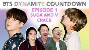 COUNTDOWN TO BTS DYNAMITE (EP. 1) | Reacting to Suga & V - YouTube