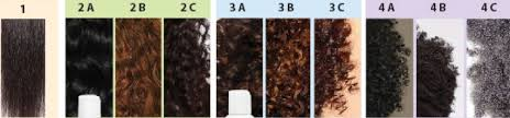 Natural Hair Texture Chart What Is My Natural Hair Type