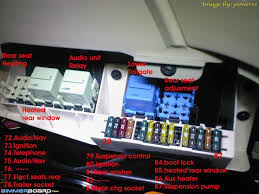 cigarette lighters not working bimmerfest bmw forums rear fuses in cargo area see fuse 83