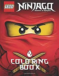 lego ninjago coloring book activity book for kids 40 ilrations