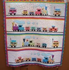 10 best Baby Quilts images on Pinterest   Quilt baby, Baby quilt ... & Just Quilts: Choo Choo Train Quilt. Adamdwight.com