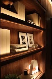 Bookshelf Lighting Ambientes Decorados Com Leds Shelving