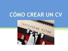 Cómo Crear Un Cv. Los Profesionales Dedicados A La Contratación De ...