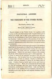 On march 4, 1865, only 41 days before his assassination, president abraham lincoln took the oath of office for the second time. President Lincoln S First Inaugural Address 1861 Ap Us History Study Guide From The Gilder Lehrman Institute Of American History