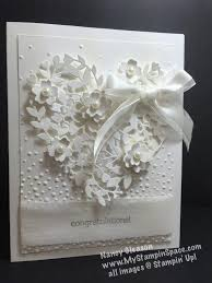 112 best white cards 3 images on pinterest Wedding Card Craft Pinterest find this pin and more on white cards 3 by carollust Pinterest Card Making Ideas