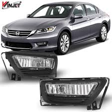 2013 Honda Accord Fog Light Installation Amazon Com Winjet Wj30 0401 09 Oem Series For 2013 2015