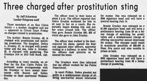 Myrtle Hanson's daughter arrested - Newspapers.com